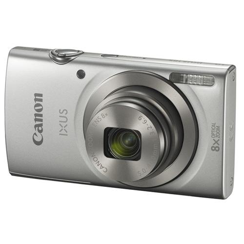 "CAMARA DIGITAL CANON IXUS 185 PLATA - 20MPX - LCD 2.7""/6.85CM - ZOOM 8X OPT ESTABILIZADOR IMAGEN - VIDEO HD - USB - DATE BUTTON - BATERIA | Quonty.com | 1806C001AA"