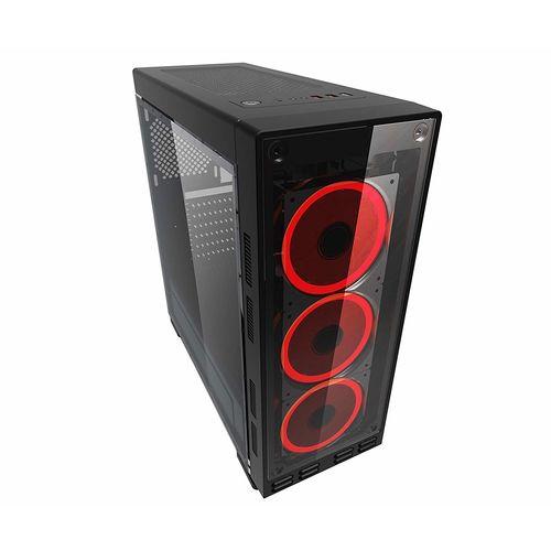 CAJA SEMITORRE/ATX COOLBOX DEEPFLASH USB3.0 LED-RGB | Quonty.com | COO-DGC8K8-KRG