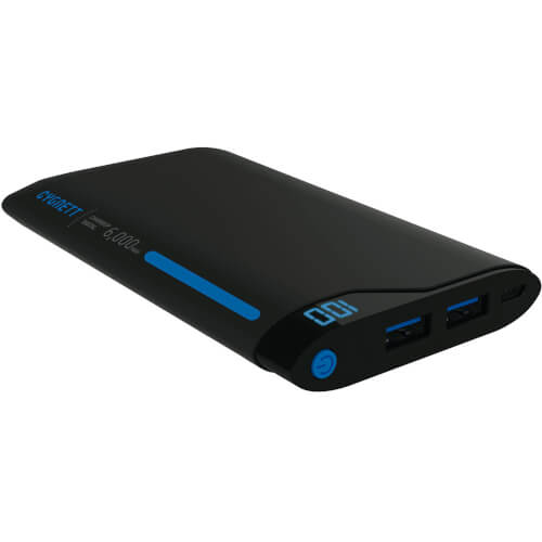 Bateria Cygnett Chargeup Digital Blue/Grey 6000mah | Quonty.com | CY1768PBCHE