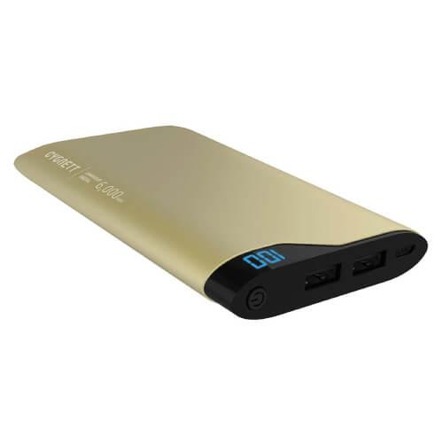 Bateria Cygnett Chargeup Digital Gold 6000mah | Quonty.com | CY1778PBCHE