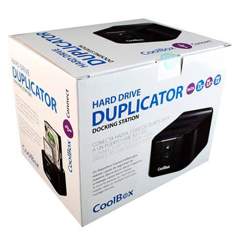 BASE CONECTORA HDD COOLBOX 2.5''/3.5'' SATA USB3.0 NEGRA | Quonty.com | CAJCOODDDU3