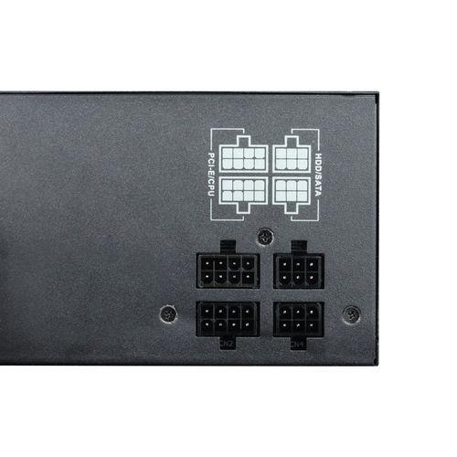 Fuente Coolbox Deepenergy 600w Pfc-Activo 80+Bronze Atx Rgb | Quonty.com | DG-PWS600-MRBZ