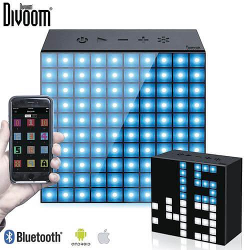 ALTAVOZ DIVOOM AURABOX 5W BT4.0 LED MULTICOLOR | Quonty.com | DIV60151
