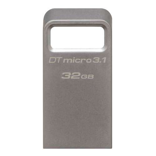 PENDRIVE KINGSTON 32GB USB3.1 DT MICRO 3.1 | Quonty.com | DTMC3/32GB