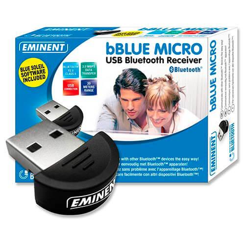 ADAPTADOR BLUETOOTH EMINENT EW1085 USB2.0 BT2.0 | Quonty.com | EW1085
