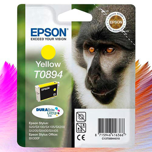 TINTA EPSON C13T08944020 AMARILLO | Quonty.com | C13T08944020