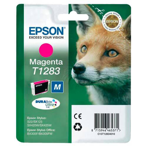 TINTA EPSON C13T12834010 MAGENTA S22/SX420/425/BX3 | Quonty.com | C13T12834010