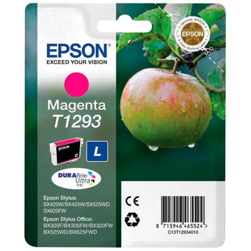 TINTA EPSON C13T12934010 MAGENTA | Quonty.com | C13T12934010