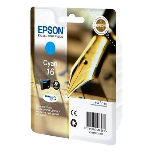TINTA EPSON C13T16224010 Nº 16 CYAN | Quonty.com | C13T16224010