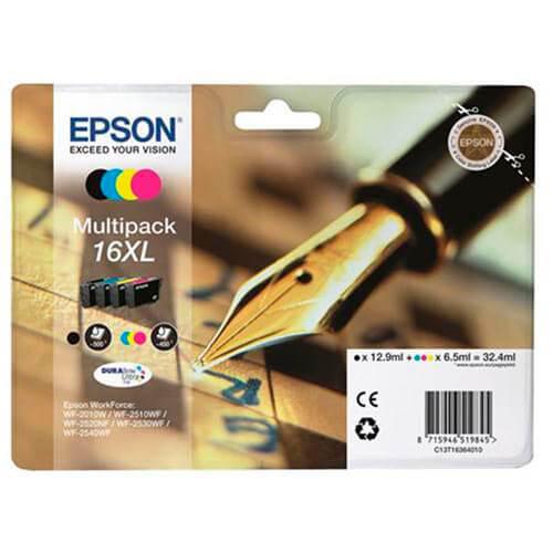 TINTA EPSON T16364010 Nº 16XL MULTIPACK | Quonty.com | C13T16364010