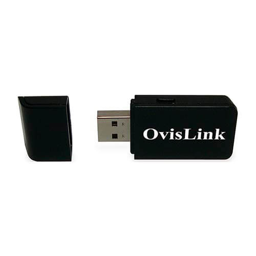 ADAPTADOR RED OVISLINK EVOW302USB USB2.0 WIFI-N/300MBPS WPS 1T2R | Quonty.com | EVOW302USB
