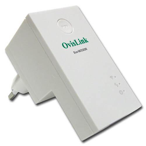 REPETIDOR OVISLINK EVO-W330R WIFI-N/300MBPS 1RJ45 | Quonty.com | EVO-W330R