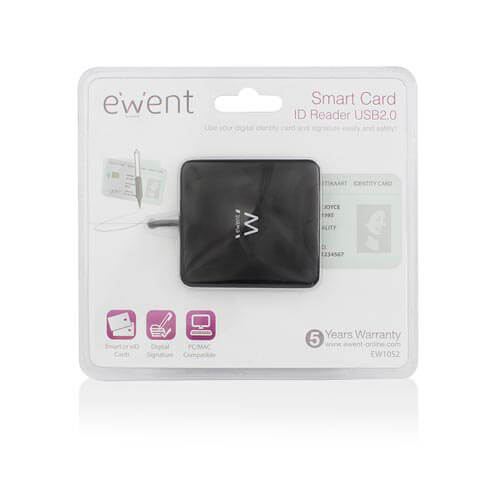LECTOR EXTERNO USB2.0 EMINENT DNIE | Quonty.com | EW1052