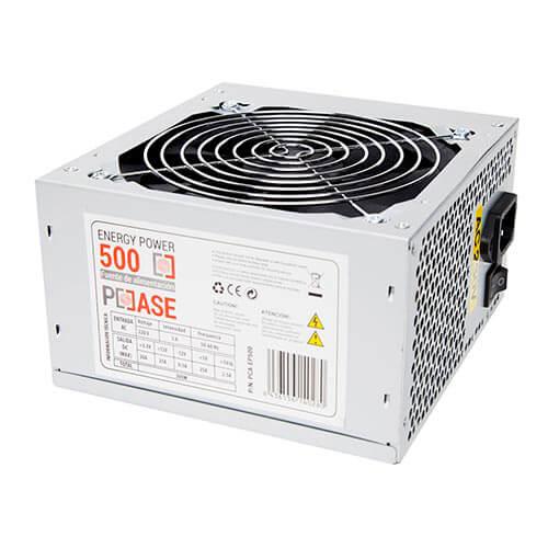Fuente Coolbox 500w 2sata 12cm Atx | Quonty.com | PCA-EP500