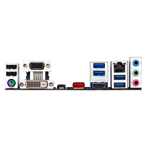 PLACA GIGABYTE B150M-DS3P INTEL1151 4DDR4 HDMI PCIE3.0 SATA3 USB3.1 MATX | Quonty.com | GA-B150M-DS3P