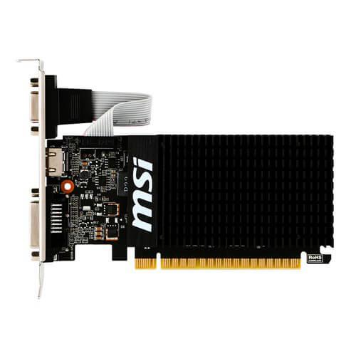 MSI GT710-2GD3H LP 2GB DDR3 PCIE2.0 | Quonty.com | 912-V809-2000R