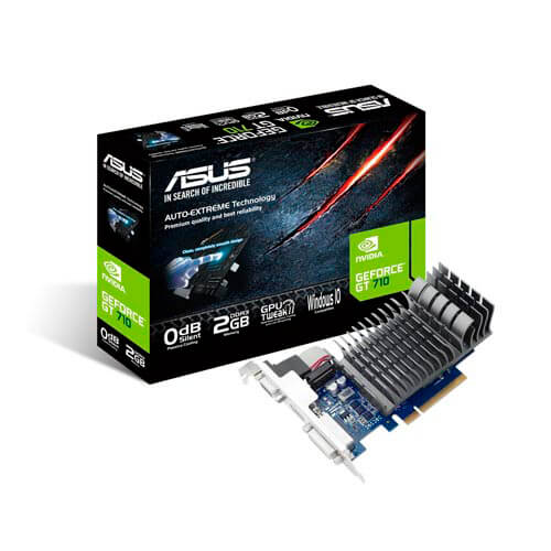 ASUS GT710-2-SL-BRK 2GB DDR3 PCIE2.0 | Quonty.com | 90YV0943-M0NA00