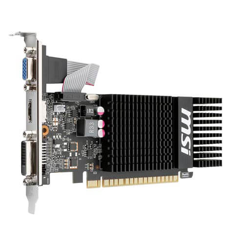 MSI N720-1GD3HLP 1GB DDR3 PCIE2.0 LP   Quonty.com   N720-1GD3HLP
