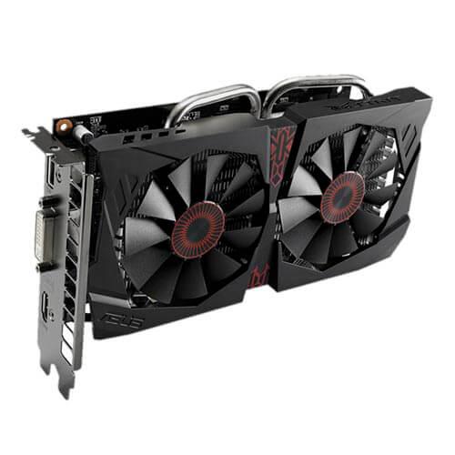 ASUS STRIX-GTX750TI-OC-2GD5 2GB GDDR5 PCIE3.0 | Quonty.com | 90YV06W0-M0NA00
