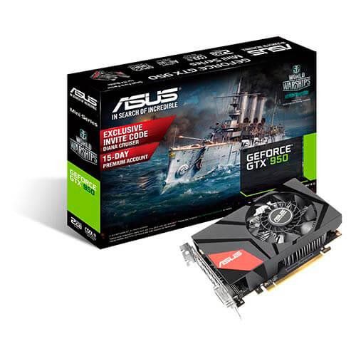ASUS GTX950-M-2GD5 2GB GDDR5 PCIE3.0 | Quonty.com | 90YV08U0-M0NA00