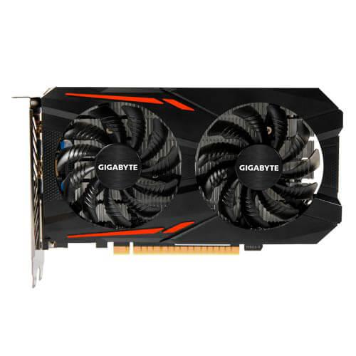 GIGABYTE GV-N105TOC-4GD 4GB GDDR5 HDMI PCIE3.0 | Quonty.com | GV-N105TOC-4GD