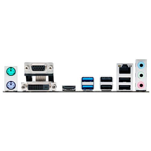 PLACA ASUS H110M-A INTEL1151 2DDR4 HDMI PCX3.0 SATA3 USB3.0 MATX | Quonty.com | 90MB0P30-M0EAY0