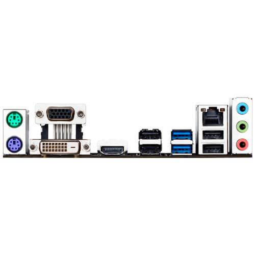 PLACA GIGABYTE H110M-S2H INTEL1151 2DDR3 HDMI SATA3 USB3.0   Quonty.com   GA-H110M-S2H DDR3