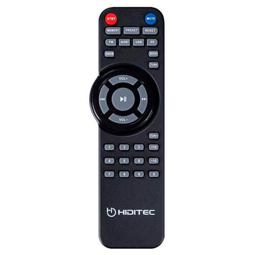 ALTAVOCES HIDITEC 2.1 H500 MULTIMEDIA 100W BT4.0 USB SD RADIO LINE-IN MANDO A DISTANCIA | Quonty.com | SPK010001