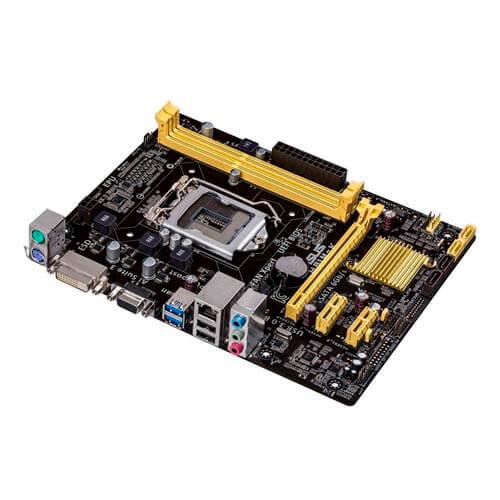 PLACA ASUS H81M-K INTEL1150 2DDR3 DVI SATA3 USB3.0 MATX | Quonty.com | 90MB0HI0-M0EAY0