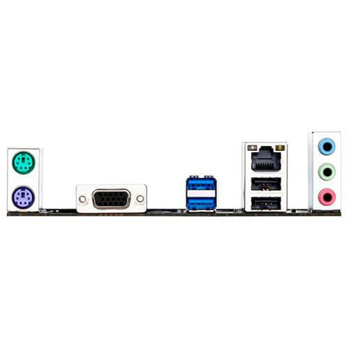 PLACA GIGABYTE H81M-S1 INTEL1150 2DDR3 VGA SATA3 USB3.0 MATX | Quonty.com | GA-H81M-S1