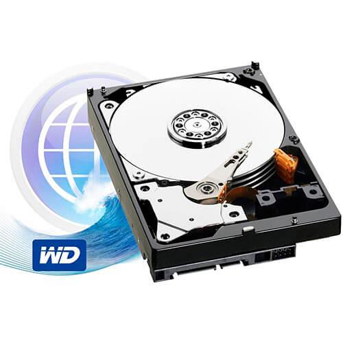 HDD WD 3.5'' 2TB 5400RPM 64MB SATA3 BLUE | Quonty.com | WD20EZRZ