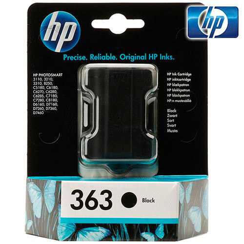 TINTA HP C8721EE Nº 363 NEGRO   Quonty.com   C8721EE