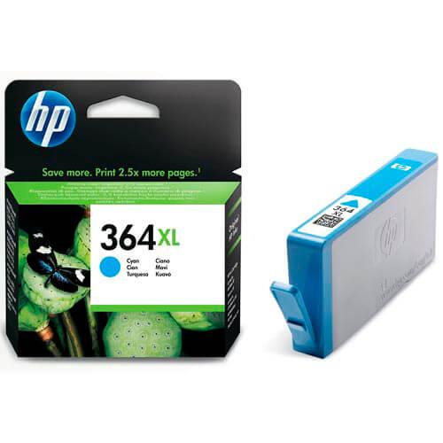 TINTA HP CB323EE Nº 364XL CYAN | Quonty.com | CB323EE