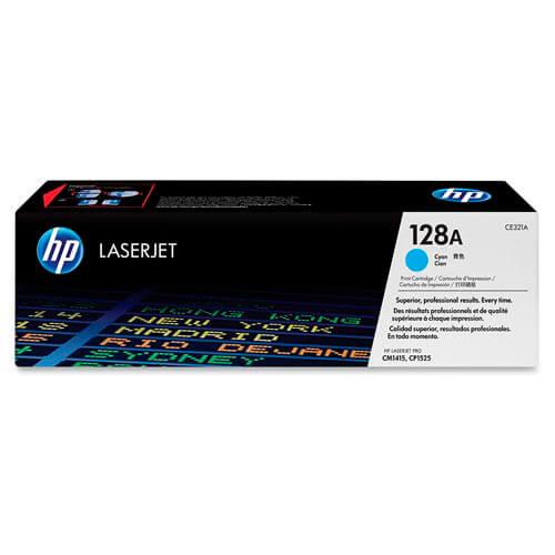 TONER HP CE321A Nº128A CIAN 2.100PAG | Quonty.com | CE321A