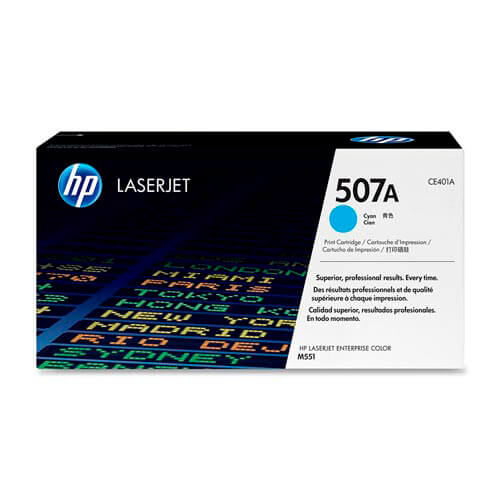 TONER HP CE401A Nº507A CIAN 6.000PAG | Quonty.com | CE401A