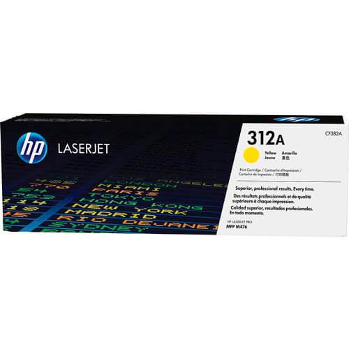 TONER HP CF382A Nº312A AMARILLO 2.700PAG | Quonty.com | CF382A