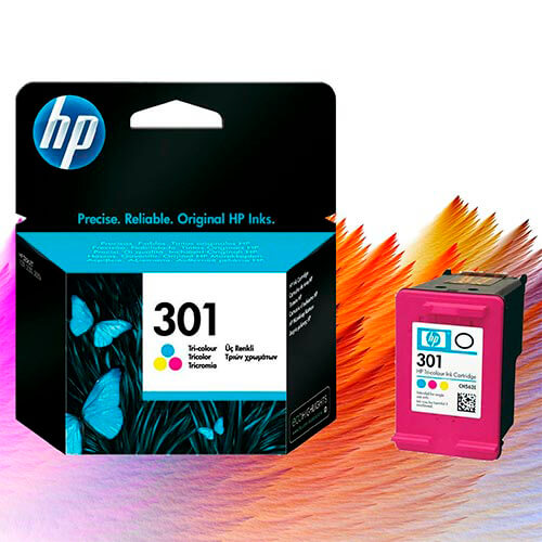 TINTA HP CH562EE Nº 301 COLOR 165 PAG. | Quonty.com | CH562EE