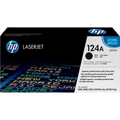 TONER HP Q6000A Nº124A NEGRO 2.500PAG | Quonty.com | Q6000A