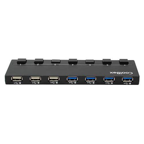 HUB COOLBOX 7 PTOS (4 USB3.0) | Quonty.com | HUBCOO356A