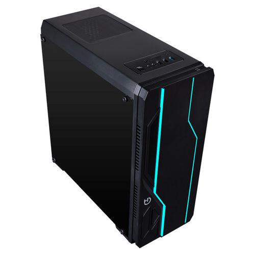 Caja Semitorre/Atx Hiditec V10 Rgb Usb3.0 Led-Multi | Quonty.com | CHA010019