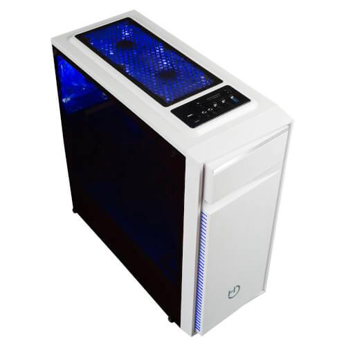 CAJA SEMITORRE/ATX HIDITEC NG-Z1 BLANCA USB3.0 | Quonty.com | CHA010009
