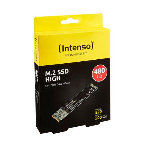 Ssd Intenso M.2 480gb Sata3 | Quonty.com | 3833450
