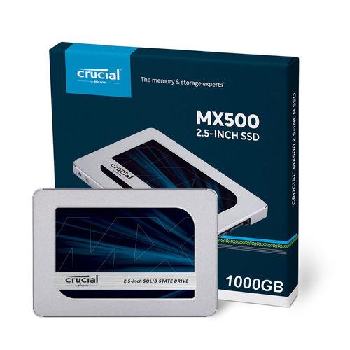Ssd Crucial Ct1000mx500ssd1 Mx500 2.5 1tb Sata3 | Quonty.com | CT1000MX500SSD1