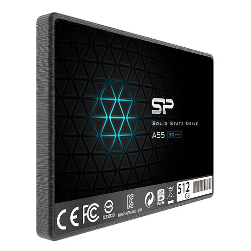 Ssd Silicon Power Ace A55 2.5'' 512gb Sata3 7mm | Quonty.com | SP512GBSS3A55S25