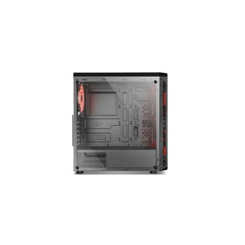 Caja Semitorre Nox Hummer Tgm S/Fuente Usb3.0 Negro Rgb | Quonty.com | NXHUMMERTGM