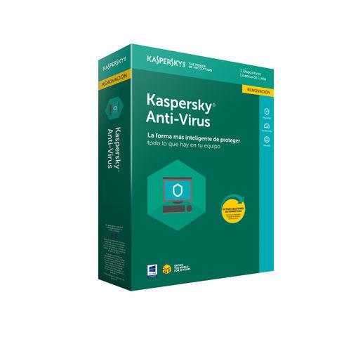 Antivirus Kaspersky 2019 - Renovación 3 Licencias / 1 Año | Quonty.com | KL1171S5CFR-9