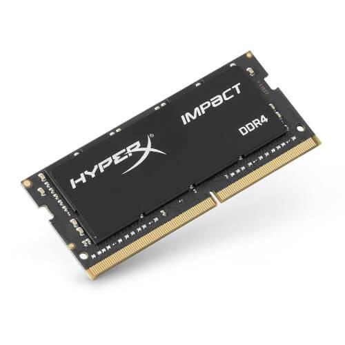 Kingston Hyperx So-Dimm Ddr4 8gb 2400mhz Cl4 Impact Black | Quonty.com | HX424S14IB2/8