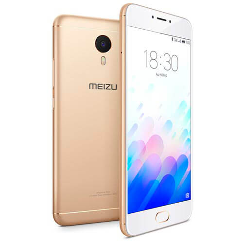 SMARTPHONE MEIZU M3 NOTE 5.5''FHD OCTACORE 2GB/16GB 4G 5/13MPX DUALSIM A5.1 BLANCO/DORADO | Quonty.com | L681H-2/16GW