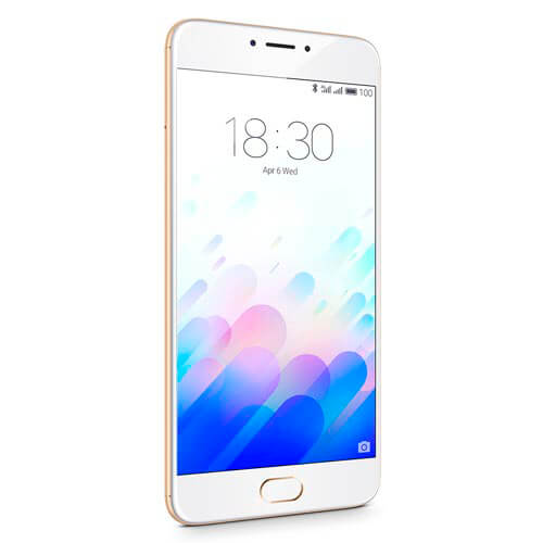 SMARTPHONE MEIZU M3 NOTE 5.5''FHD OCTACORE 3GB/32GB 4G 5/13MPX DUALSIM A5.1 BLANCO/DORADO | Quonty.com | L681H-3/32GW