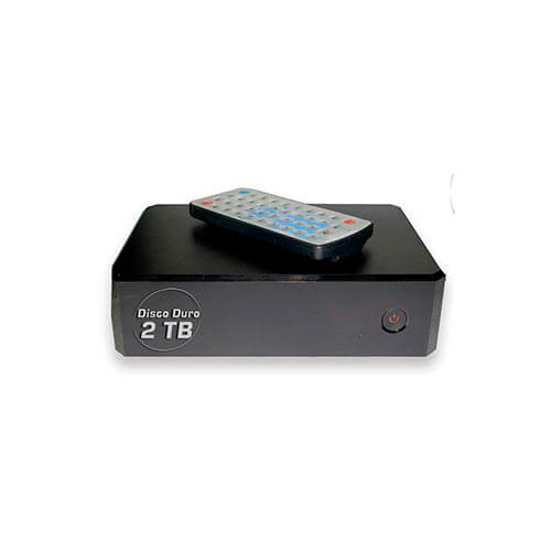 REPRODUCTOR MULTIMEDIA CONNECTION LHD3.5HDMI-V2-2TB 2TB FULLHD USB2.0 HDMI | Quonty.com | LHD3.5HDMI-V2-2TB